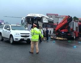 5 người tử vong trong 4 vụ tai nạn trên Cao tốc Pháp Vân - Cầu Giẽ