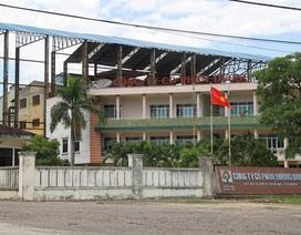 """""""Lờ"""" chỉ đạo của tỉnh, Công ty CP Đường Bình Định lần 2 bị tạm ngừng hoạt động?"""