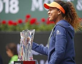 Indian Wells: Tay vợt 20 tuổi người Nhật Bản giành ngôi vô địch