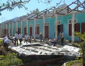 Quảng Bình: Khởi công ngôi trường sắp sập sau bão số 10