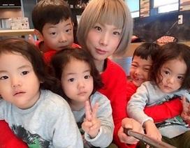 Bộ ảnh dễ thương của bà mẹ 5 con hot nhất Nhật Bản