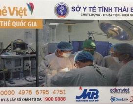 Hai triệu người dân Thái Bình tiến tới sử dụng thẻ khám bệnh thông minh
