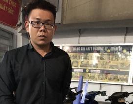 Quản lý cửa hàng ăn trộm xe của khách tại trung tâm thương mại