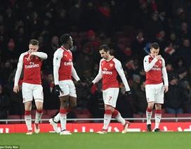 Arsenal tệ chưa từng thấy trên sân nhà