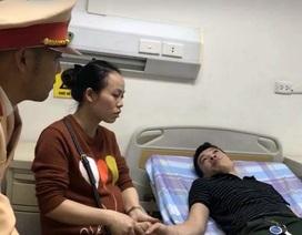 CSGT Hà Nội kịp thời cứu giúp tài xế co giật vì bệnh hiếm gặp