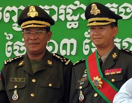 Con trai Thủ tướng Campuchia Hun Sen nhậm chức tham mưu trưởng quân đội
