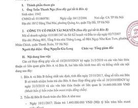 Hà Nội: Bán nhà trên giấy, chủ đầu tư có chiếm đoạt tiền của khách hàng?