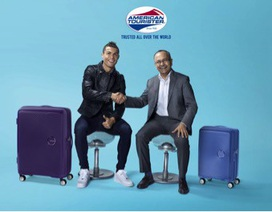 Siêu sao Cristiano Ronaldo làm Đại sứ thương hiệu cho American Tourister năm 2018