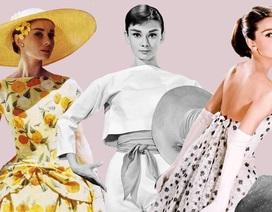 Audrey Hepburn và những bộ váy tuyệt đẹp của Givenchy