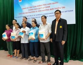 Hàn Quốc hỗ trợ 10.000 tấn gạo cho người dân vùng bão lũ Việt Nam