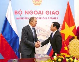 Ngoại trưởng Lavrov: Nga - Việt ủng hộ vai trò chủ chốt của luật pháp quốc tế