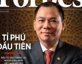 Chỉ trong 3 tuần, ông Phạm Nhật Vượng có thêm 1,7 tỷ USD
