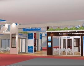 Eurowindow giới thiệu sản phẩm cửa thông minh tại Vietbuild Hà Nội 2018
