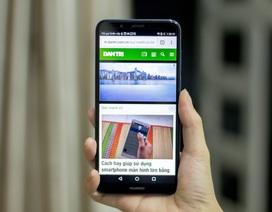 Huawei tung smartphone tràn viền, camera kép giá dưới 4 triệu đồng