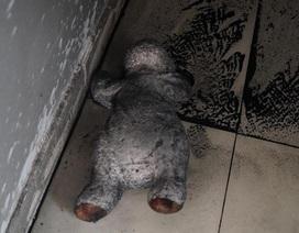 """Ám ảnh những """"dấu vết"""" bên trong chung cư cháy khiến 13 người chết"""