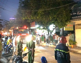 TPHCM: Cháy nhà, hàng xóm xông vào cứu thoát hai bà cháu