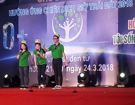 Kiên Giang: Hơn 1.000 đoàn viên, thanh niên hưởng ứng giờ trái đất