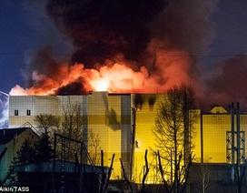 Cháy trung tâm thương mại Nga: Cửa thoát hiểm bị khóa, chuông báo cháy bị tắt