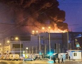 Chưa có thông tin người Việt là nạn nhân vụ cháy trung tâm thương mại Nga