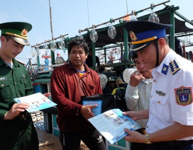 Tuổi trẻ cảnh sát biển đồng hành với ngư dân