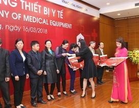 Quỹ Toyota Việt Nam góp phần giảm tỷ lệ tử vong ở trẻ em và trẻ sơ sinh