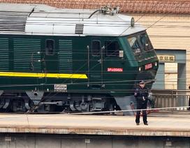 Đoàn tàu nghi chở ông Kim Jong-un rời thủ đô Bắc Kinh