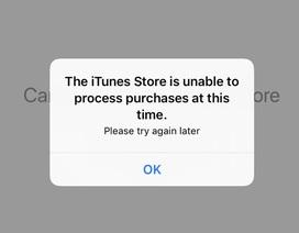 App Store bất ngờ ngừng hoạt động