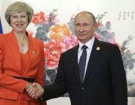 Thủ tướng Anh gửi thư cho Tổng thống Putin giữa lúc căng thẳng