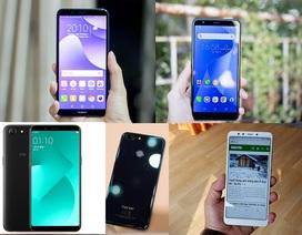 Những mẫu smartphone tràn viền giá tốt đáng mua năm 2018