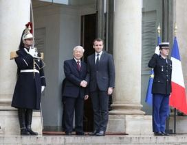 Tổng Bí thư Nguyễn Phú Trọng hội đàm với Tổng thống Pháp Emmanuel Macron