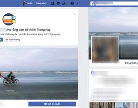 Nhiều người dùng Việt bất ngờ chuyển tài khoản cá nhân từ Facebook sang fanpage