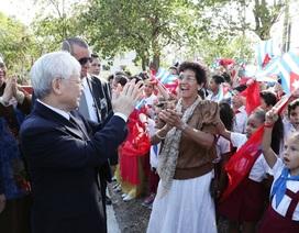 Những hoạt động đầu tiên của Tổng Bí thư Nguyễn Phú Trọng tại Cuba