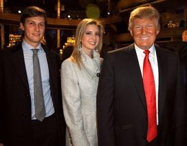 Rộ tin đồn ông Trump muốn cho con gái và con rể nghỉ việc ở Nhà Trắng