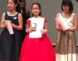 """Tài năng nhí 11 tuổi """"ẵm"""" một lúc 3 giải thưởng âm nhạc tại Nhật Bản"""