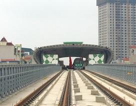 """Thứ trưởng GTVT: """"Không có chuyện tiếp tục lùi tiến độ đường sắt Cát Linh - Hà Đông"""""""