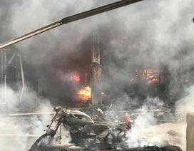 Hà Nội: Cả khu chợ 2 tầng chìm trong khói lửa