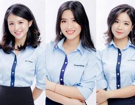 Dàn nữ sinh xinh đẹp trường Ngoại giao tự hào khoe đồng phục