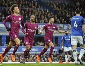 Everton 1-3 Man City: Đẳng cấp trên tầm