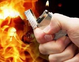 """Tẩm xăng đốt con và cháu vì """"tội""""... tự ý nhuộm tóc đỏ"""