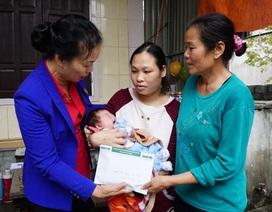 Hơn 100 triệu đồng đến với gia đình bé sinh non đa dị tật