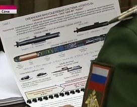 """Tướng Nga tiết lộ vũ khí dưới nước """"bất khả chiến bại"""""""