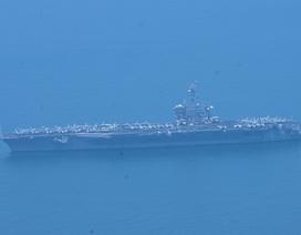 Tàu sân bay Mỹ đã vào vịnh Đà Nẵng