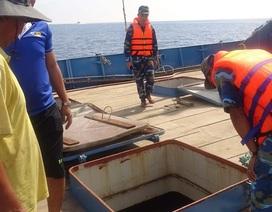 Phát hiện 3 tàu nghi vận chuyển lậu hàng trăm ngàn lít dầu DO