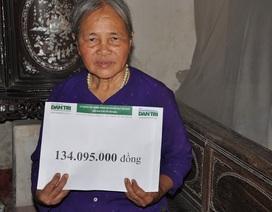 Hơn 134 triệu đồng đến với người mẹ nuôi 4 con câm dại và 2 cháu mồ côi