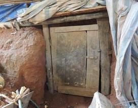 """Phạt hơn 500 triệu đồng nhóm người đào """"địa đạo"""" để khai thác vàng"""
