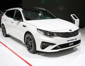 Kia Optima được trang bị động cơ hoàn toàn mới