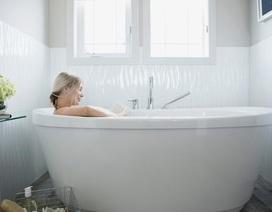 Phụ nữ mang thai có thể thư giãn với bồn nước nóng và xông hơi