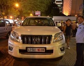 Chính phủ ban hành quy định mới về thuế ưu đãi đối với xe đeo biển ngoại giao