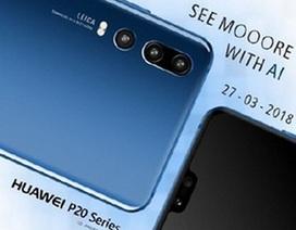 Hình ảnh chính thức của smartphone có 3 camera ở mặt sau được hé lộ