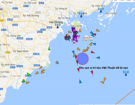 Tàu container đâm va trên biển, 9 thuyền viên được cứu sống